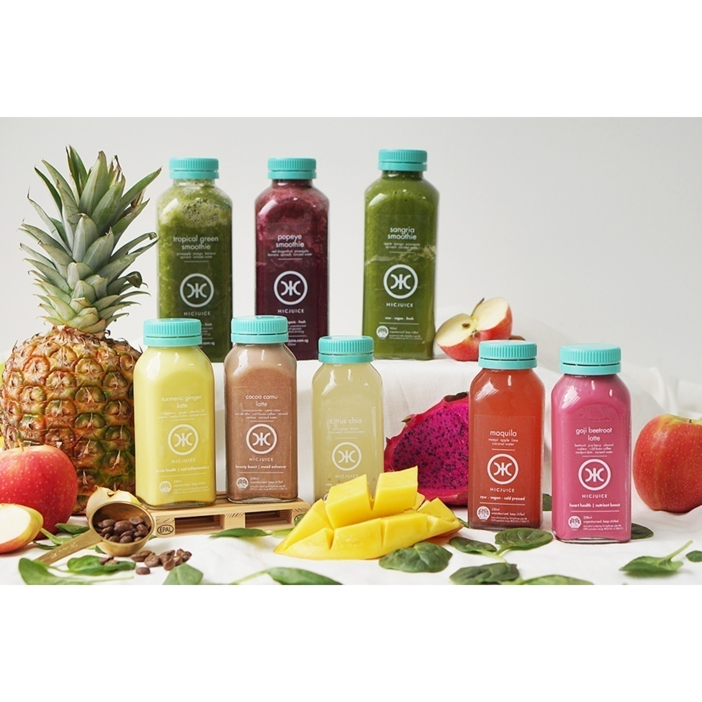 the smoothies  superfoods set