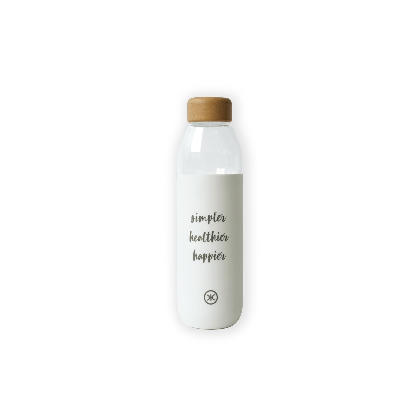 HICxSoma water bottle white