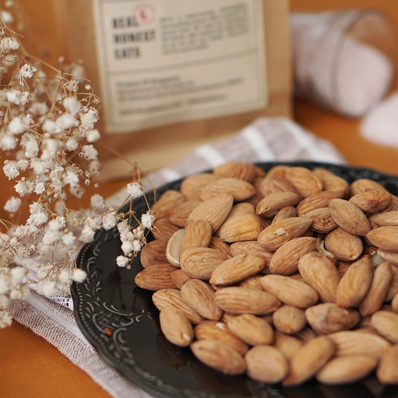 lightly salted activated almonds