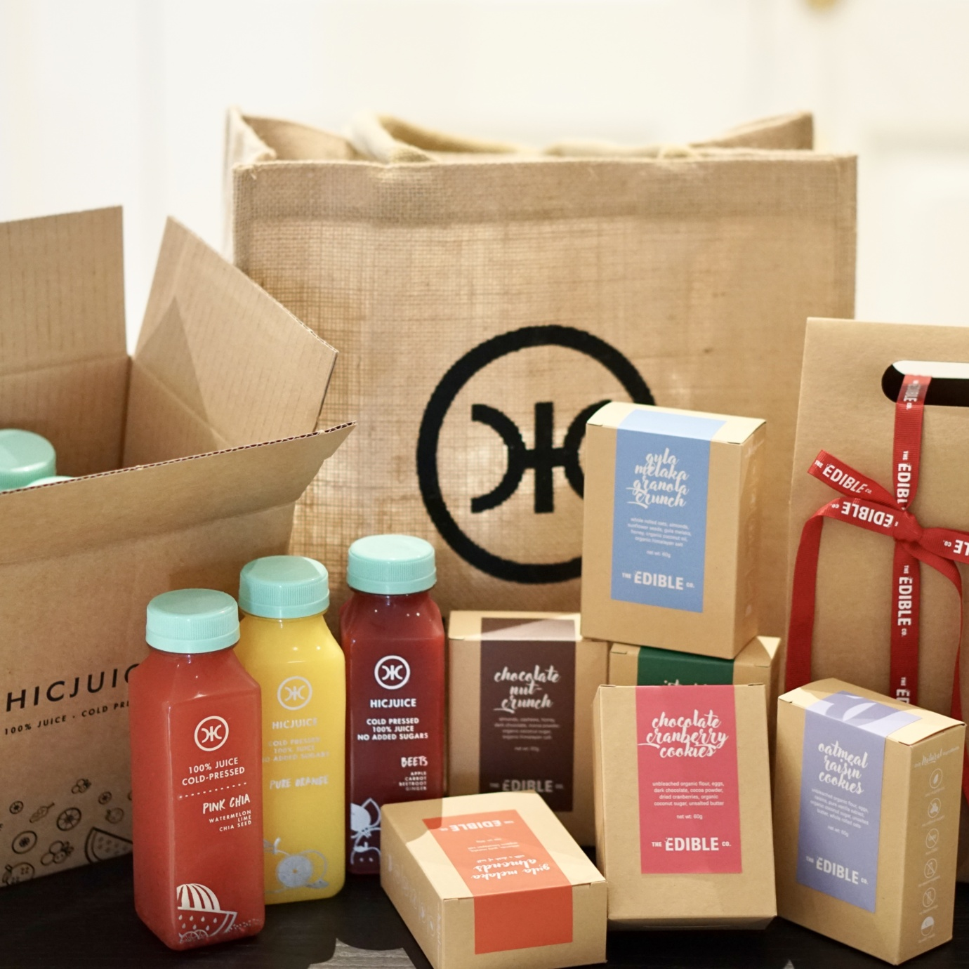 healthy care gift bag