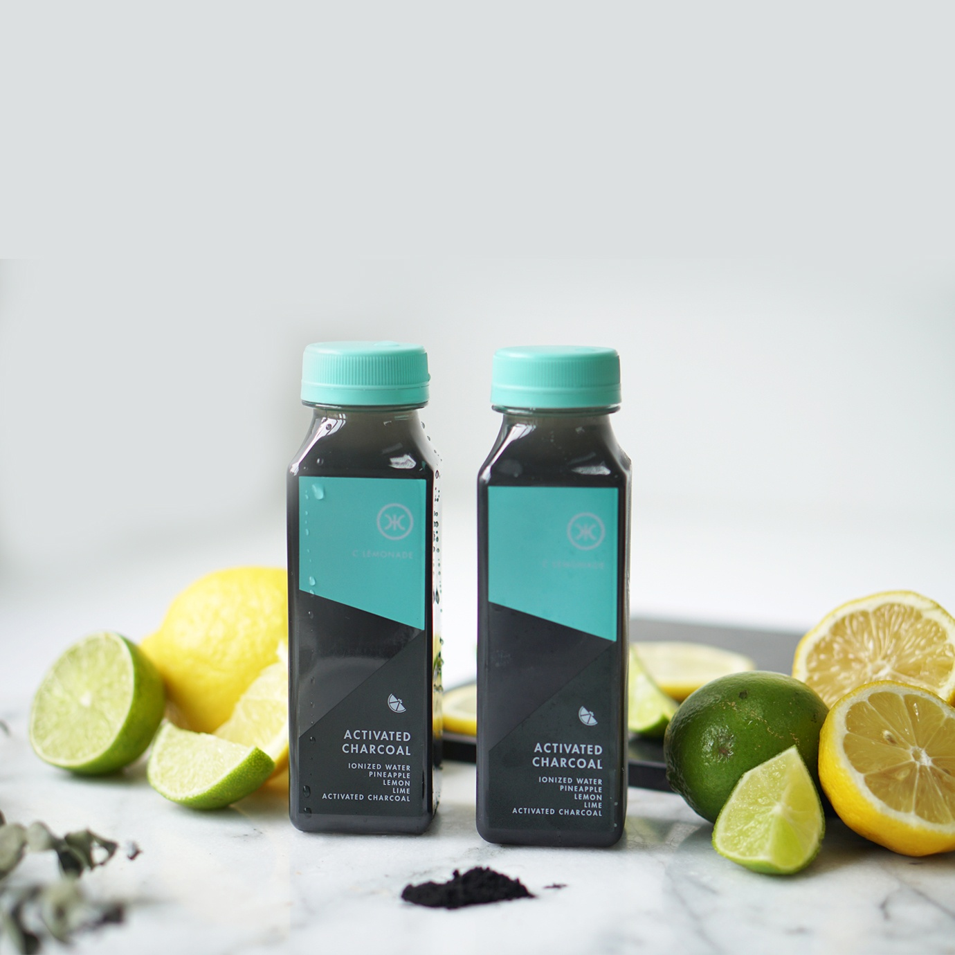 activated charcoal lemonade carton of 12