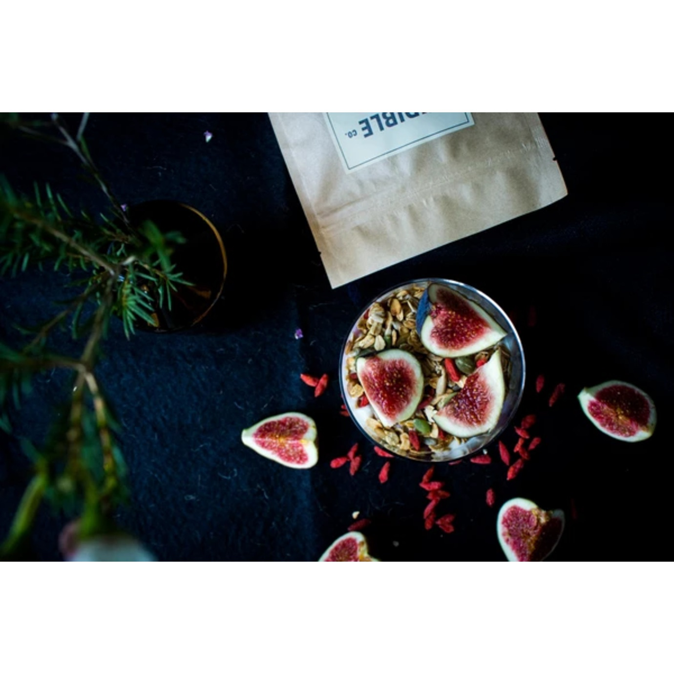 ginger and fig granola